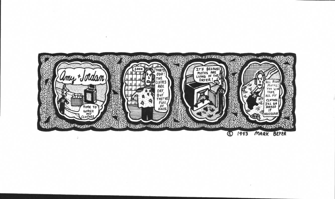 Mark Beyer Strip Comic Art