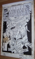 New Mutants 86 Cover by Liefeld and McFarlane, after Ditko Comic Art