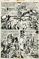 Captain America 206 Page 6 - Jack Kirby Comic Art