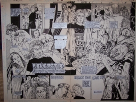 Hellblazer 11 Pages 4-5 Comic Art