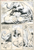 Joe Kubert - Tarzan #245 Comic Art