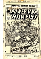 Power Man and Iron Fist #52 Comic Art