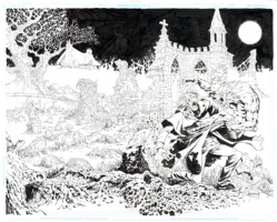 Thicker Than Blood #3 Cover B Wraparound by Mike Ploog (For Sale $3999) Comic Art