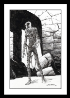 Mummy Art by Bernie Wrightson (SOLD) Comic Art