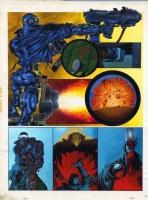 Kev Walker Original Comic Art - 2000AD #750 Page 31 (SOLD) Comic Art