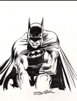 Drawing From Batman Illustrated Vol 3 by Neal Adams (SOLD) Comic Art