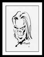 Planet of the Apes Sketch by Mike Ploog (SOLD) Comic Art