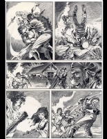 Planet of the Apes #6 Page 25 by Mike Ploog (SOLD) Comic Art