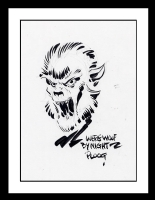 Werewolf by Night Sketch by Mike Ploog (SOLD) Comic Art