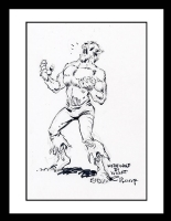 Werewolf by Night Sketch (SOLD) Comic Art