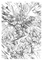 Darkhawk Comic Art