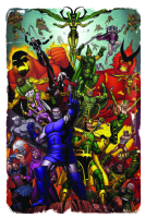 Asgardian and Fourth World Villains by Brendon & Brian Fraim and Simon Gough Comic Art