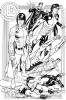 Legion of Mon-Els by Chris Batista & John Dell Comic Art