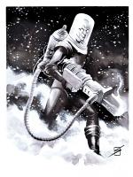 Mr. Freeze by Ron Salas Comic Art