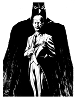Alfred Pennyworth by Ron Salas Comic Art