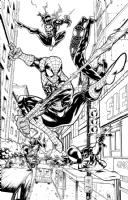 Spider-Men by Nate Stockman Comic Art