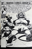Amazing Spider-Man #232 Cover, Comic Art
