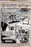Amazing Spider-Man #162 title splash Comic Art