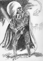 Darth Vader by Allen Bellman Comic Art