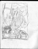 SPIDERMAN 628 splash pg 1 prelim, Comic Art