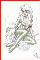 Gerben den Heeten Black Cat Comic Art