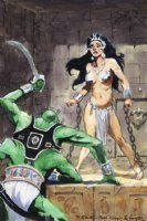 5 the bo hampton triptych part five Dejah Thoris  Comic Art