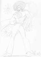 Sunshine Superman by Paris Cullens Comic Art