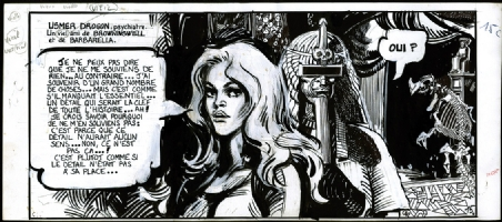Barbarella, Le Miroir aux Temp�tes - 1980 Comic Art