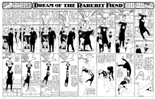 Dream of the Rarebit Fiend 1906-04-14 Comic Art