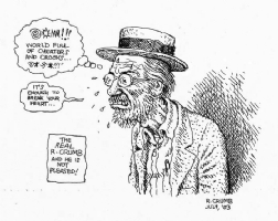 Crumb 2003 Comic Art