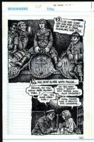 Robert Crumb: Kafka book, pg.115 Comic Art