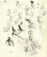 Frank Frazetta: sketchbook page 1 Comic Art