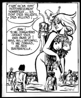 Barbarella - 1968 Comic Art