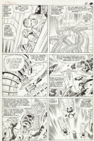 Kirby/Stone Fantastic Four 31, page 9 Comic Art