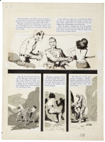 Frazetta(?)/Williamson Crime Illustrated 3, 1956 Comic Art