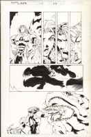 Joe Mad Uncanny X-Men 347 pg 20 Rogue & Gambit Comic Art