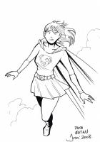Supergirl - Jordi Bayarri Comic Art