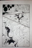 Mighty Avengers #24 pag.3 Comic Art