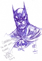 Batman / Joe Mad Comic Art