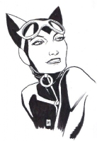 Catwoman by Lee Moder (Fan Expo Canada 2014), Comic Art