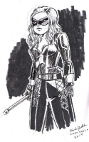 Sara Lance/Black Canary (Arrow) by Kristen Gudsnuk (New York Comic Book Marketplace/NYCBM 2014), Comic Art