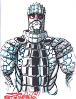 Ice Warrior (Doctor Who) by Jeff Zornow (Signing Event at Comic Book Jones, October 22, 2014), Comic Art