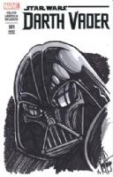 Darth Vader #1: Darth Vader by Ken Haeser  (East Coast Comicon 2015), Comic Art