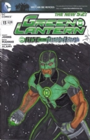 Green Lantern #13: Simon Baz by Dave Ryan, Comic Art
