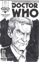 Doctor Who: New Adventures With The Twelfth Doctor #1: Twelfth Doctor by BobbyTimony (New York Comic Con/NYCC 2014), Comic Art