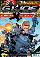 G I Joe cover Issue 2 Comic Art