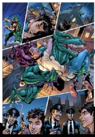 Spiderman - Lizard UK#182 p5 Comic Art