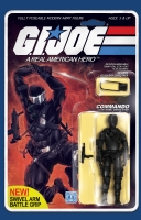 GI Joe: Real American Hero #215 Action Figure Variant by Robert Atkins, Comic Art