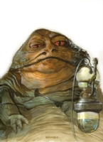 Jabba the Hutt by Dave Dorman now accepting commissions, Comic Art