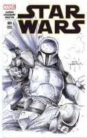 Boba Fett by Jason Metcalf now accepting commissions for NYCC 2015 ,, Comic Art